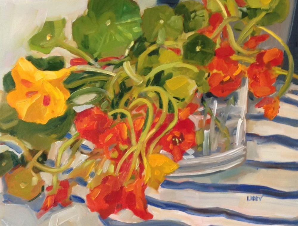 """""""Table Favorites"""" original fine art by Libby Anderson"""