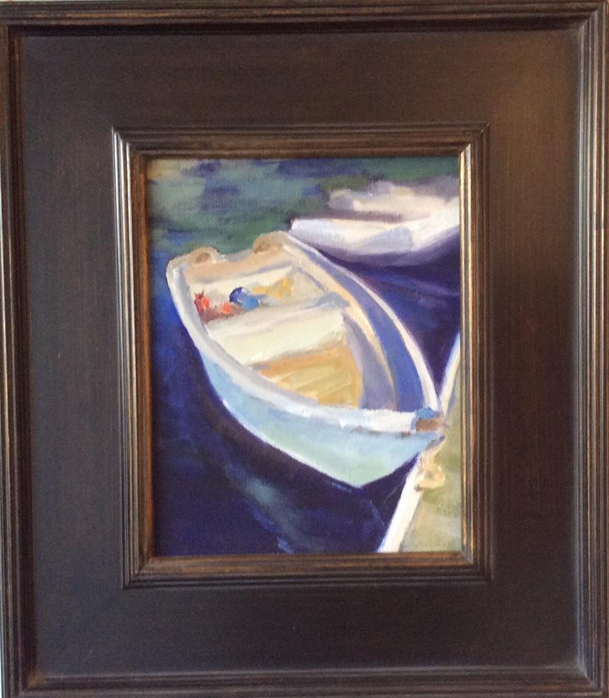 """Row Boat"" original fine art by Leigh Alexandra Sparks"