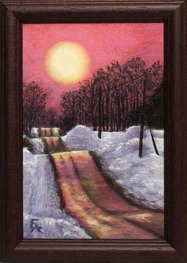 """Morning Reflections"" original fine art by Elizabeth Elgin"