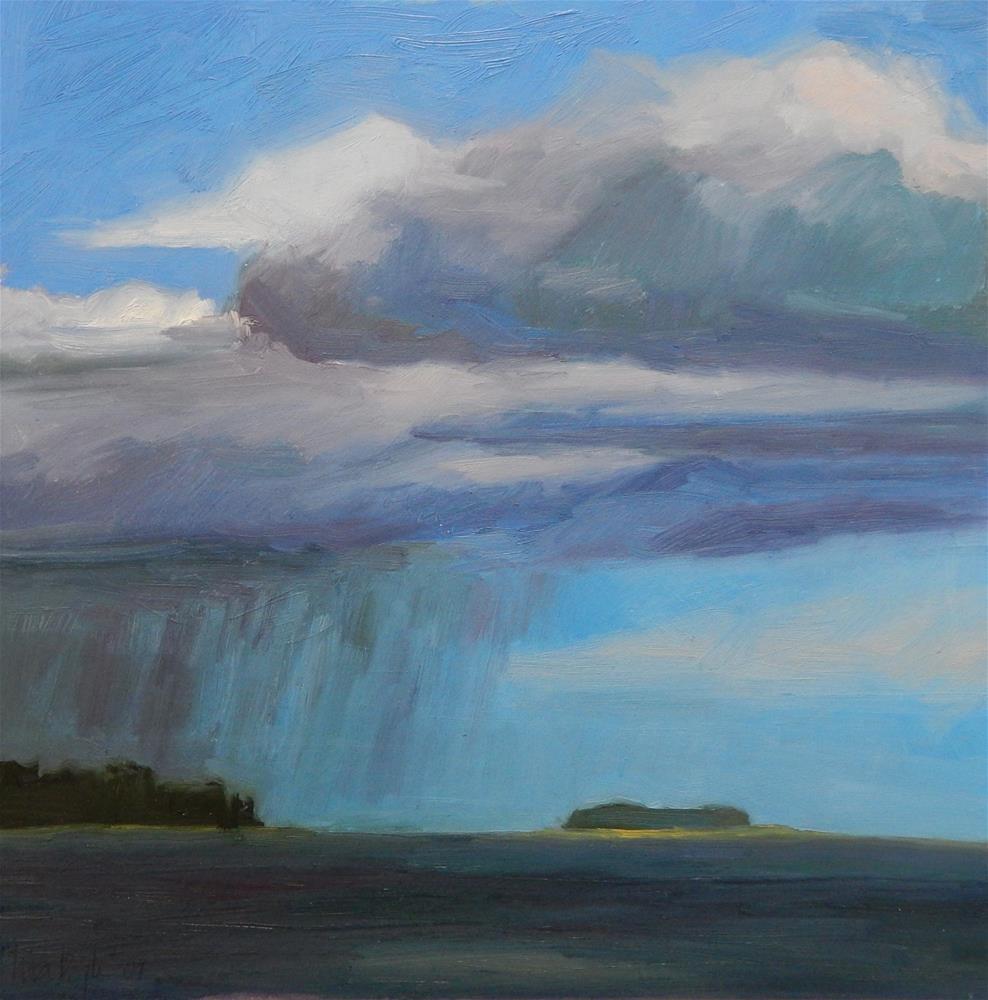 """""""Summer Storm"""" original fine art by Lisa Kyle"""