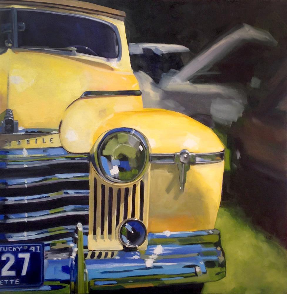"""""""1941"""" original fine art by Elizabeth Dawn Johnston"""