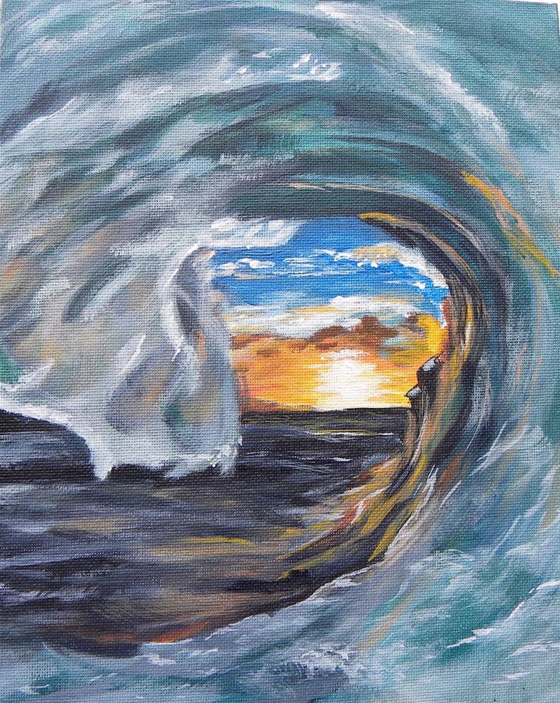 """the Curl"" original fine art by cheryl buhrman"