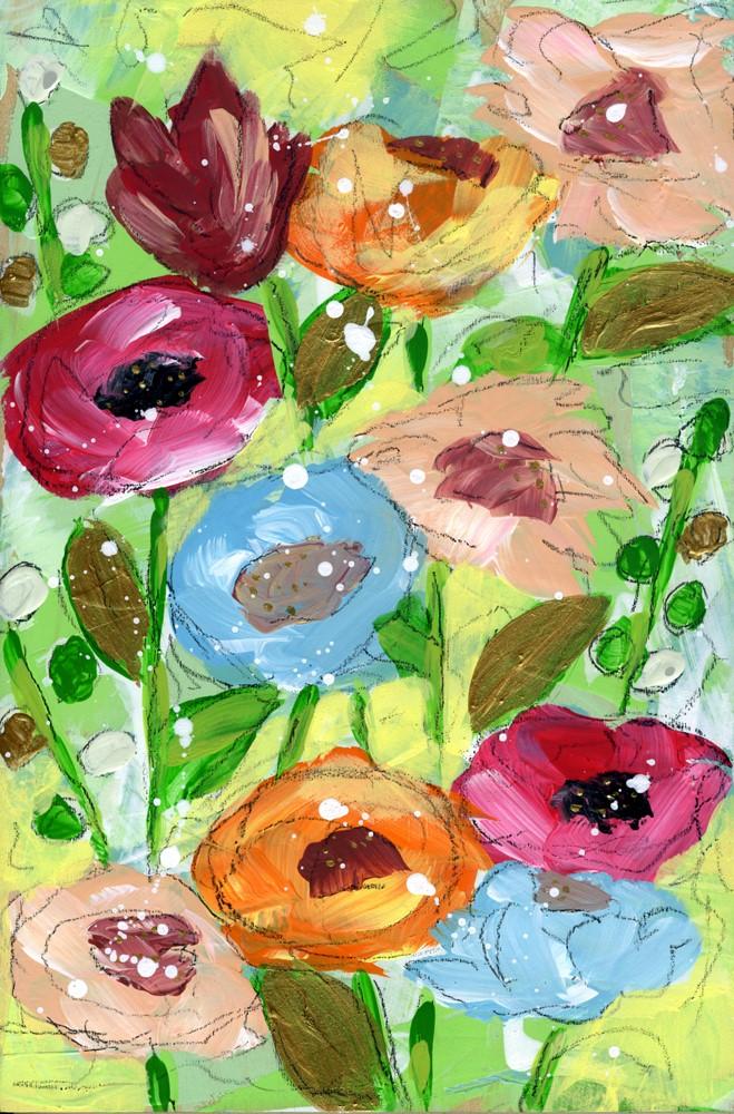 """Shimmer"" original fine art by Kali Parsons"