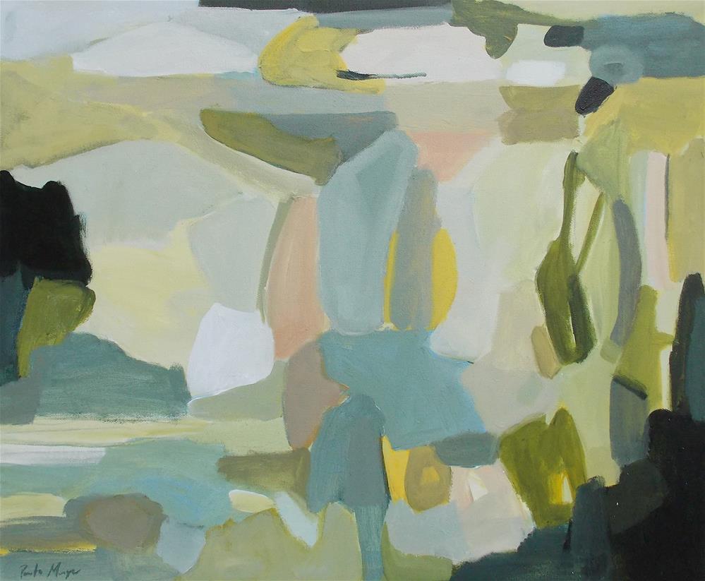 """Oasis"" original fine art by Pamela Munger"
