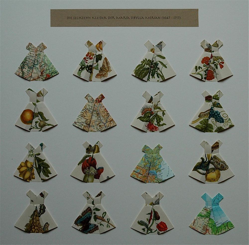 """""""Die sechzehn Kleider der Maria Sibylla Merian (1647 - 1717)"""" original fine art by Ulrike Schmidt"""
