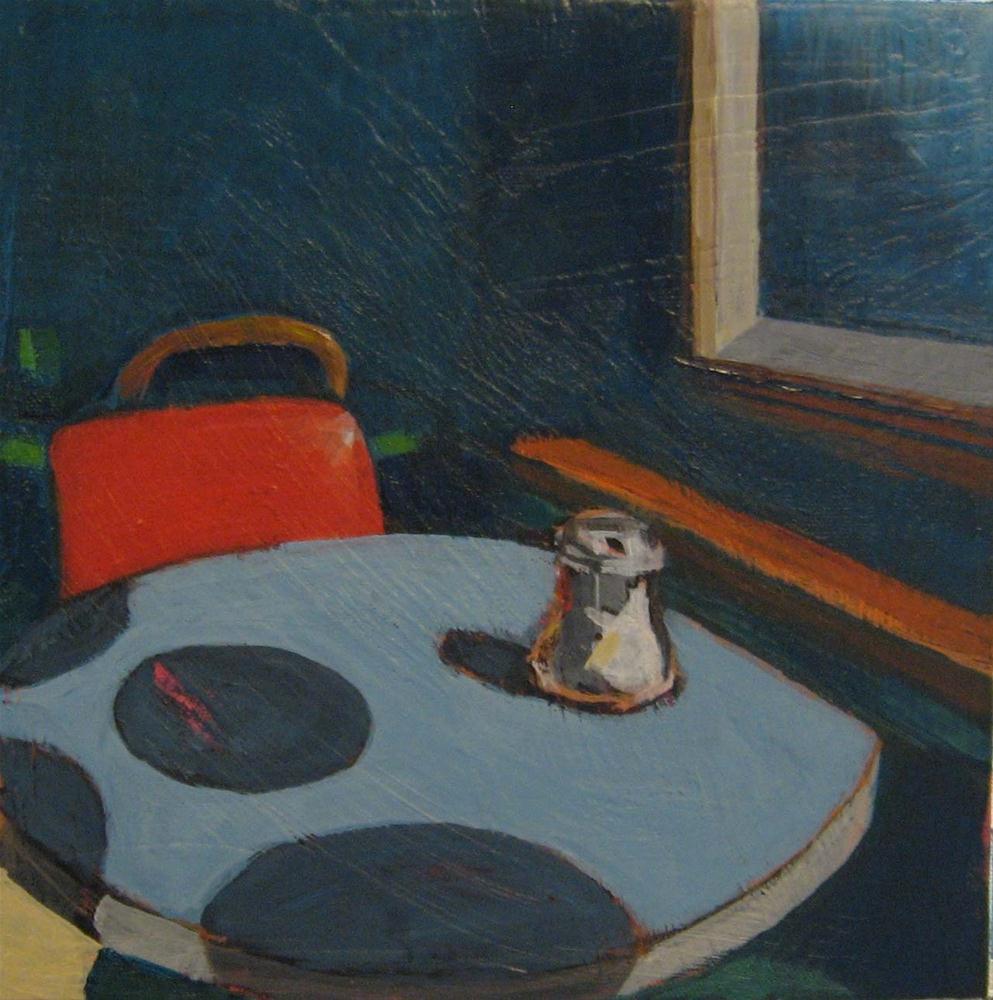"""Meeting Place"" original fine art by Kristina Davidson"