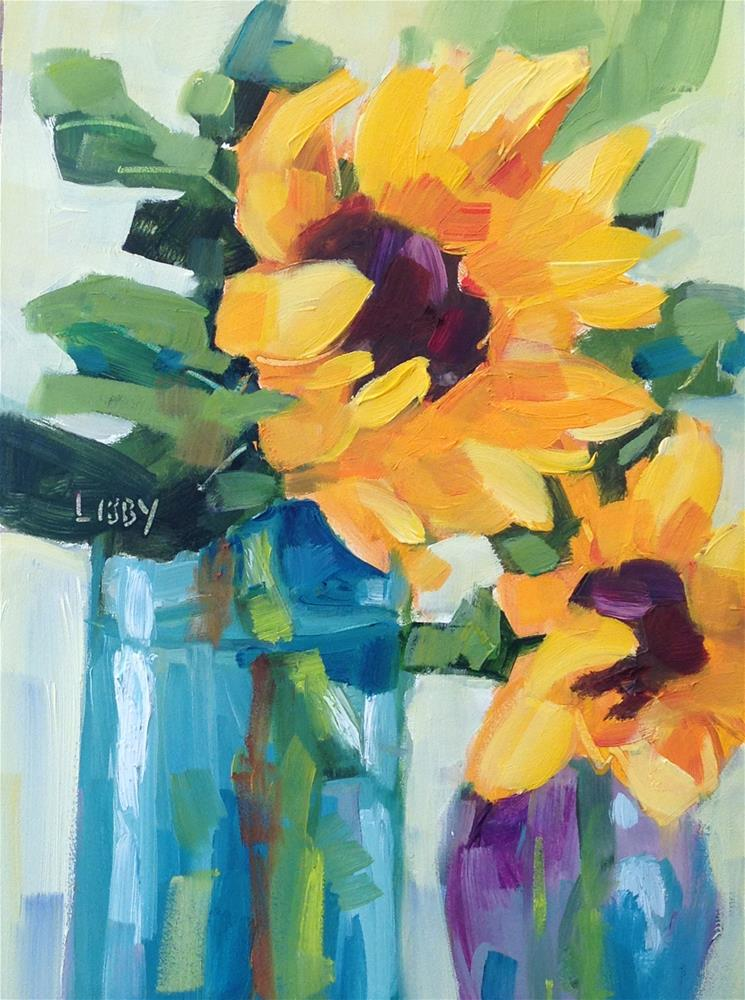 """Cordial"" original fine art by Libby Anderson"