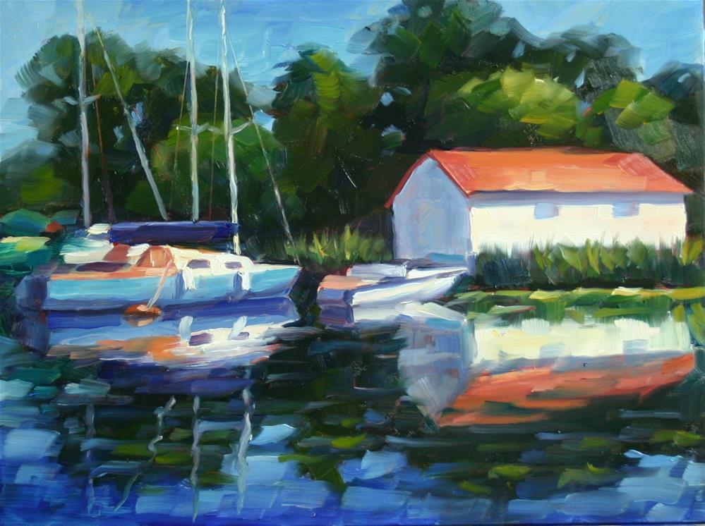 """Toronto Island Afternoon"" original fine art by Catherine Jeffrey"