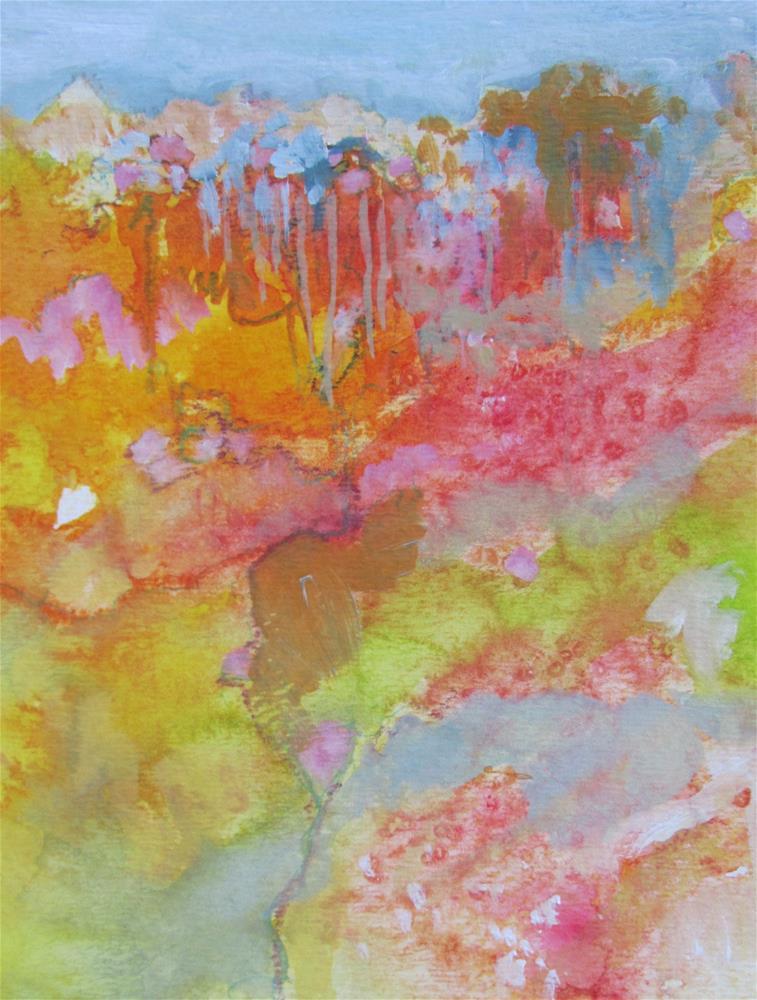 """Fantasia"" original fine art by Patricia MacDonald"