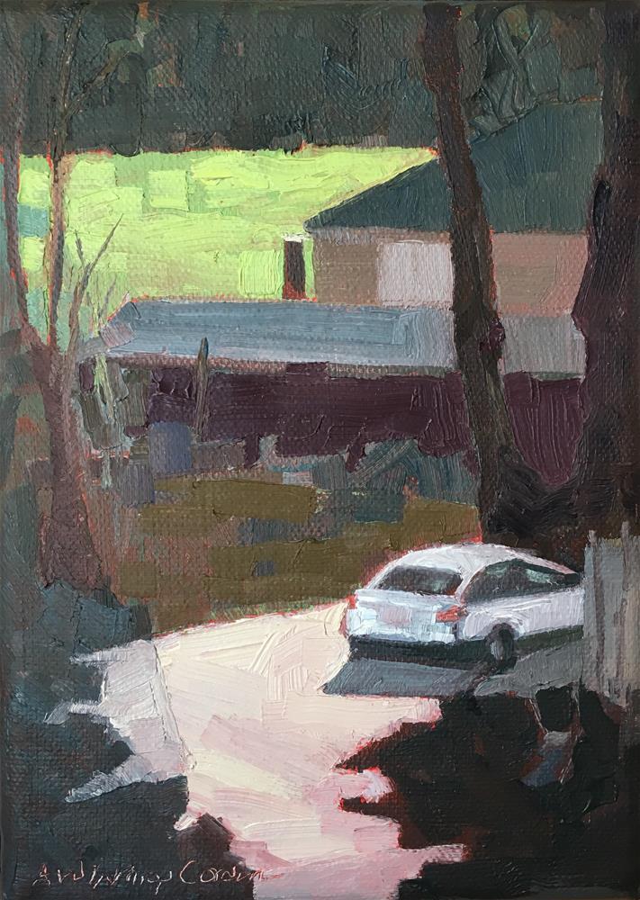 """Road Shots 66"" original fine art by Anne Winthrop Cordin"