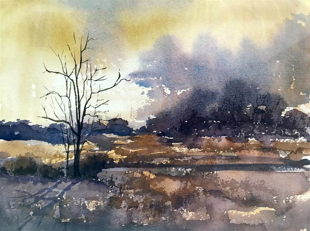 """after the storm"" original fine art by Betty Argiros"