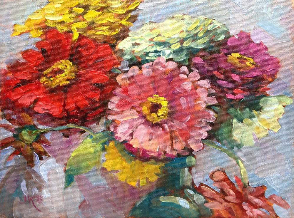 """""""Close-Up"""" original fine art by Jeanne Bruneau"""