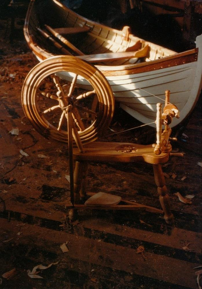 """Photo of spinning wheel and Antares"" original fine art by Peter Lentini"