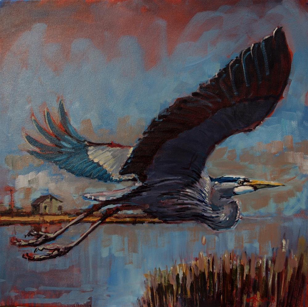 """""""Wet"""" original fine art by Rick Nilson"""