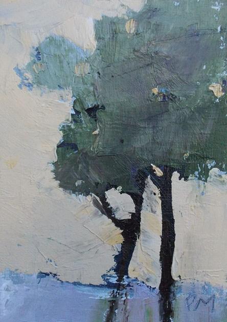 """Trees"" original fine art by Pamela Munger"