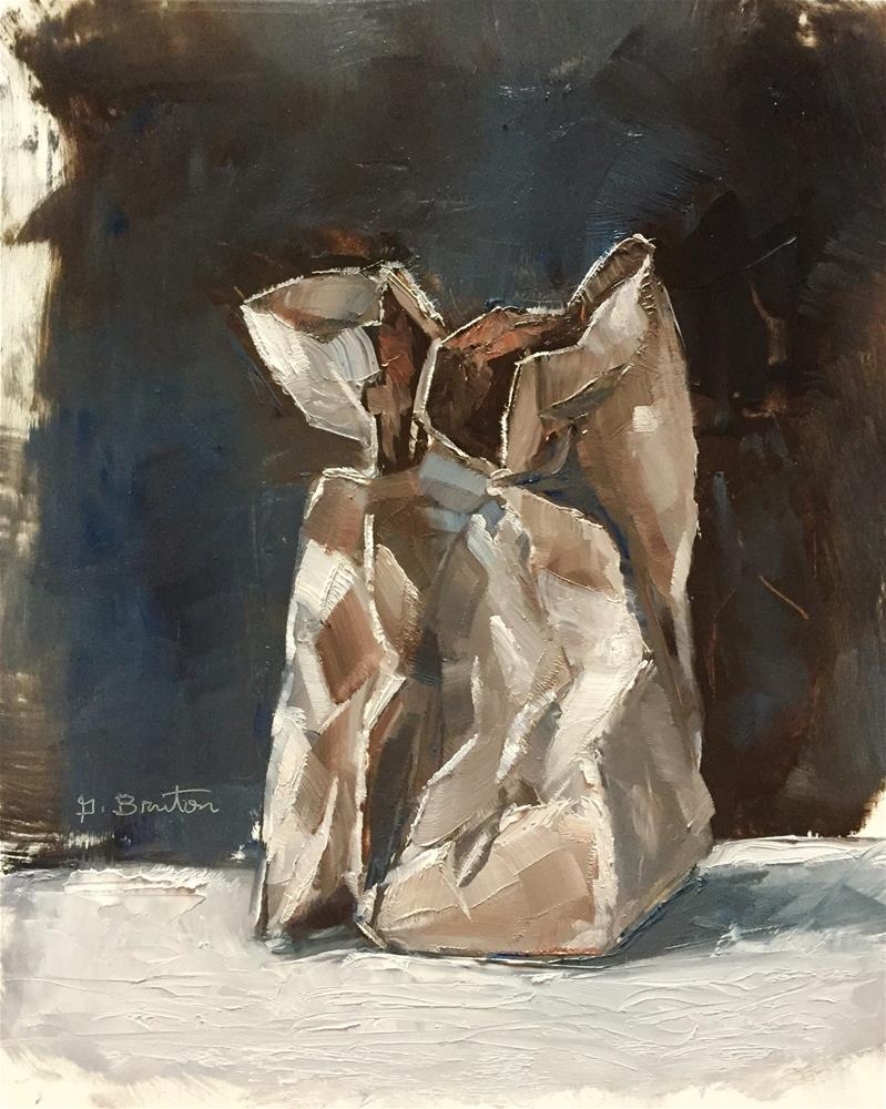"""Paper Bag"" original fine art by Gary Bruton"