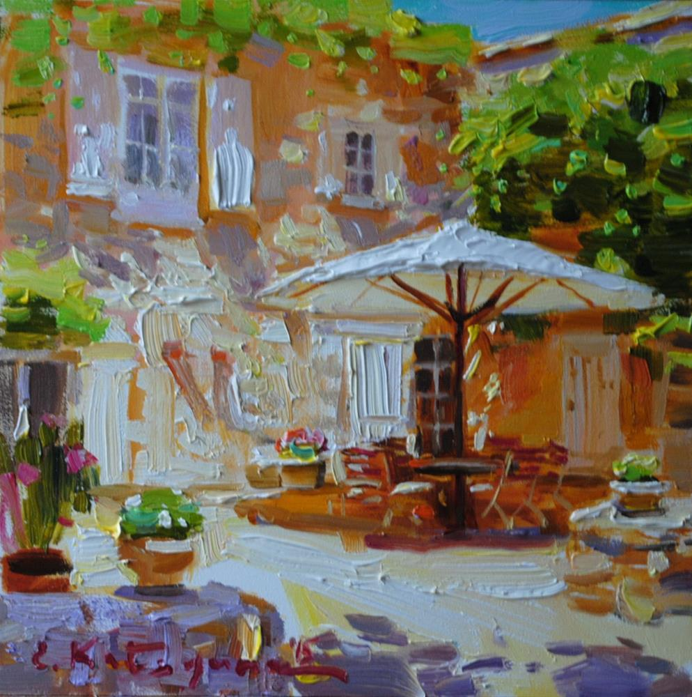 """Summer Days"" original fine art by Elena Katsyura"