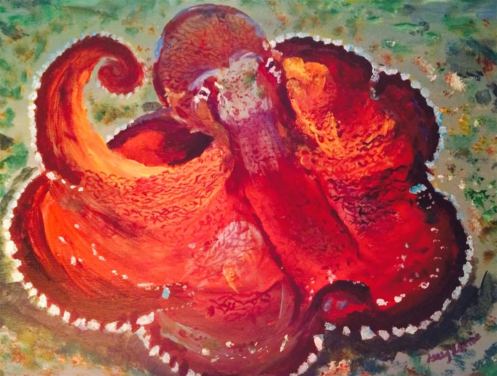 """Octopus"" original fine art by Gary Price"