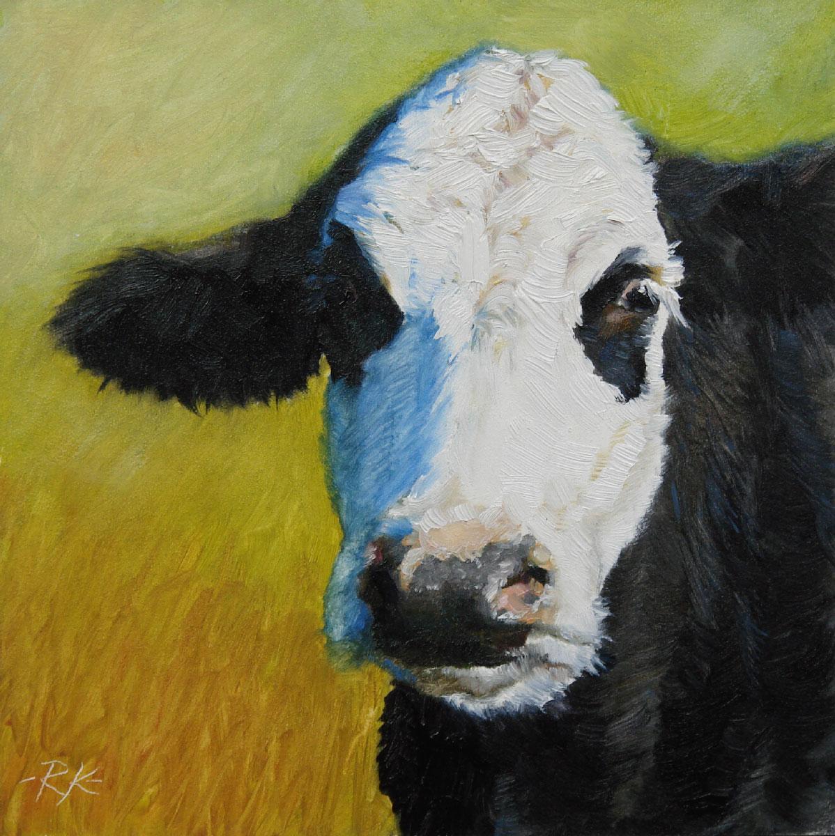 """Nellie"" original fine art by Rita Kirkman"
