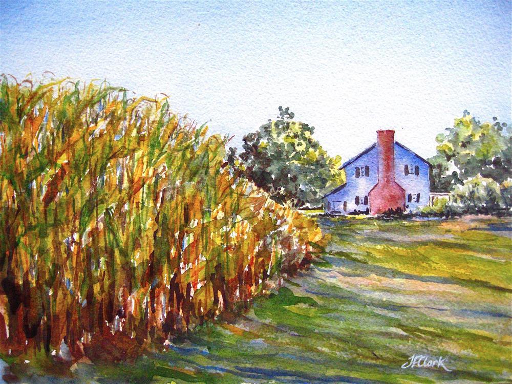 """Summertime"" original fine art by Judith Freeman Clark"