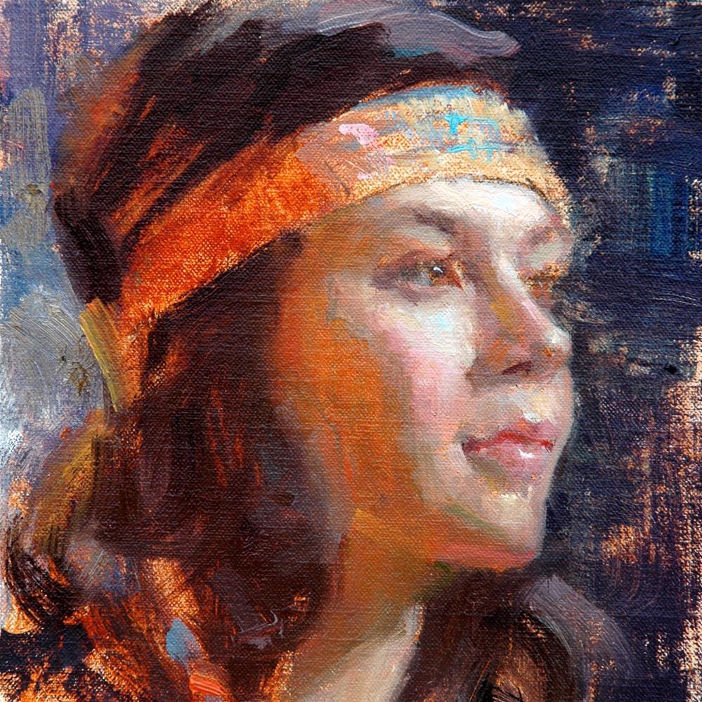 """The Homecoming"" original fine art by Johanna Spinks"