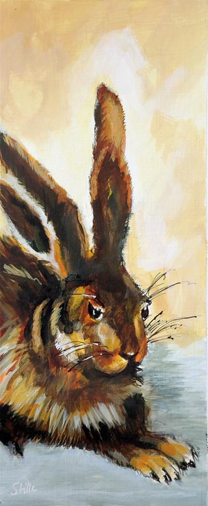 """2532 Olde Rabbit"" original fine art by Dietmar Stiller"