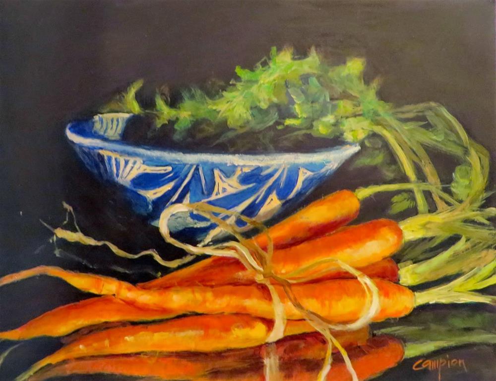 """558.  Combover"" original fine art by Diane Campion"