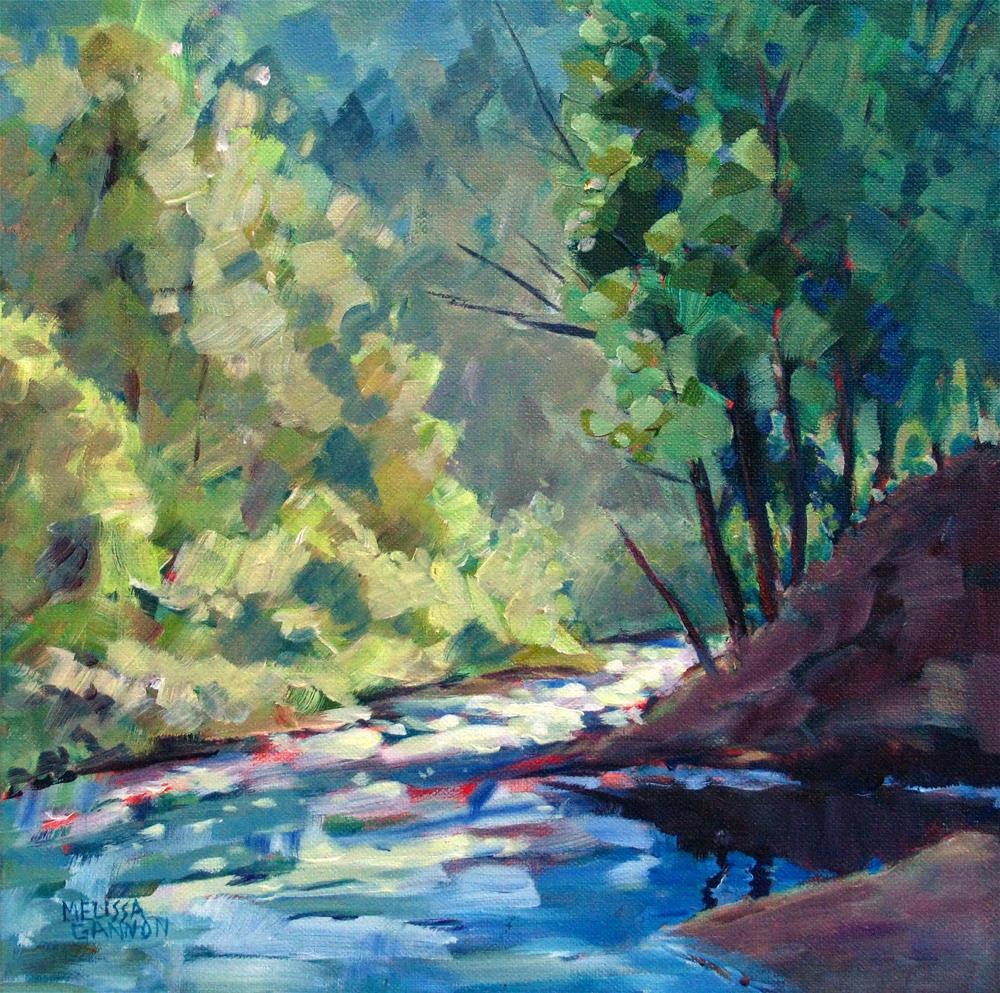 """Early Evening Magic"" original fine art by Melissa Gannon"