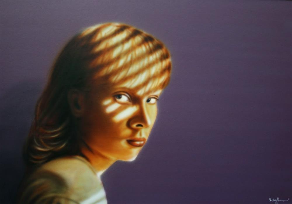 """""""Jessie # 7"""" original fine art by Fred Schollmeyer"""