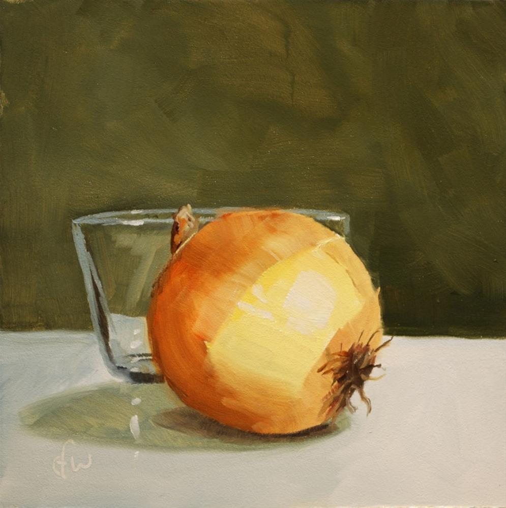 """Onion and Bowl"" original fine art by Gary Westlake"