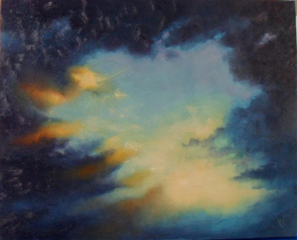 """""""Promise of a New Day"""" original fine art by Karen Roncari"""