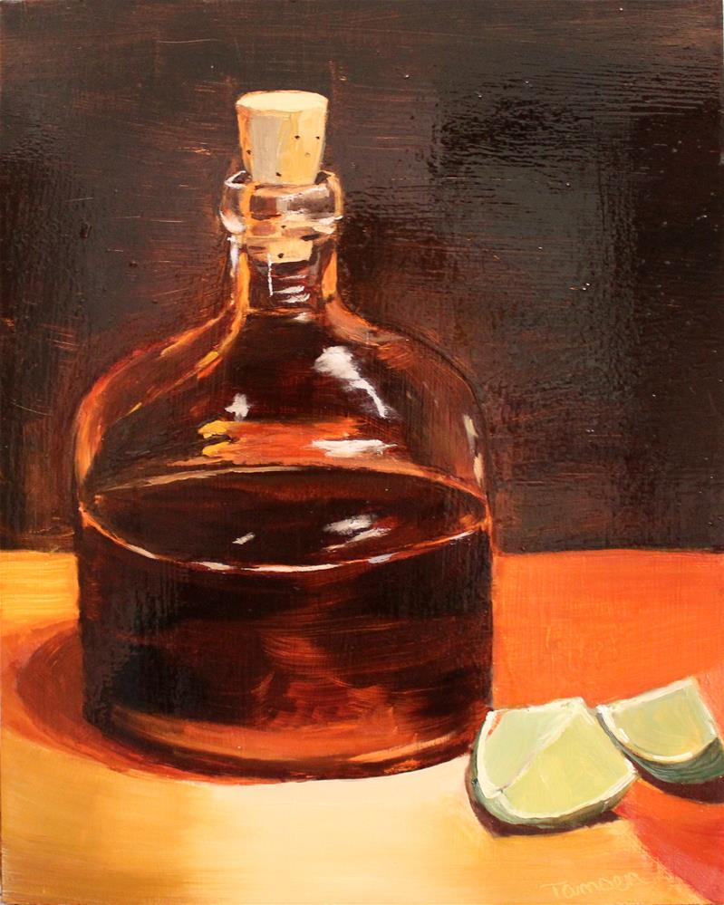 """Rum & Limes"" original fine art by Tamsen Armstrong"
