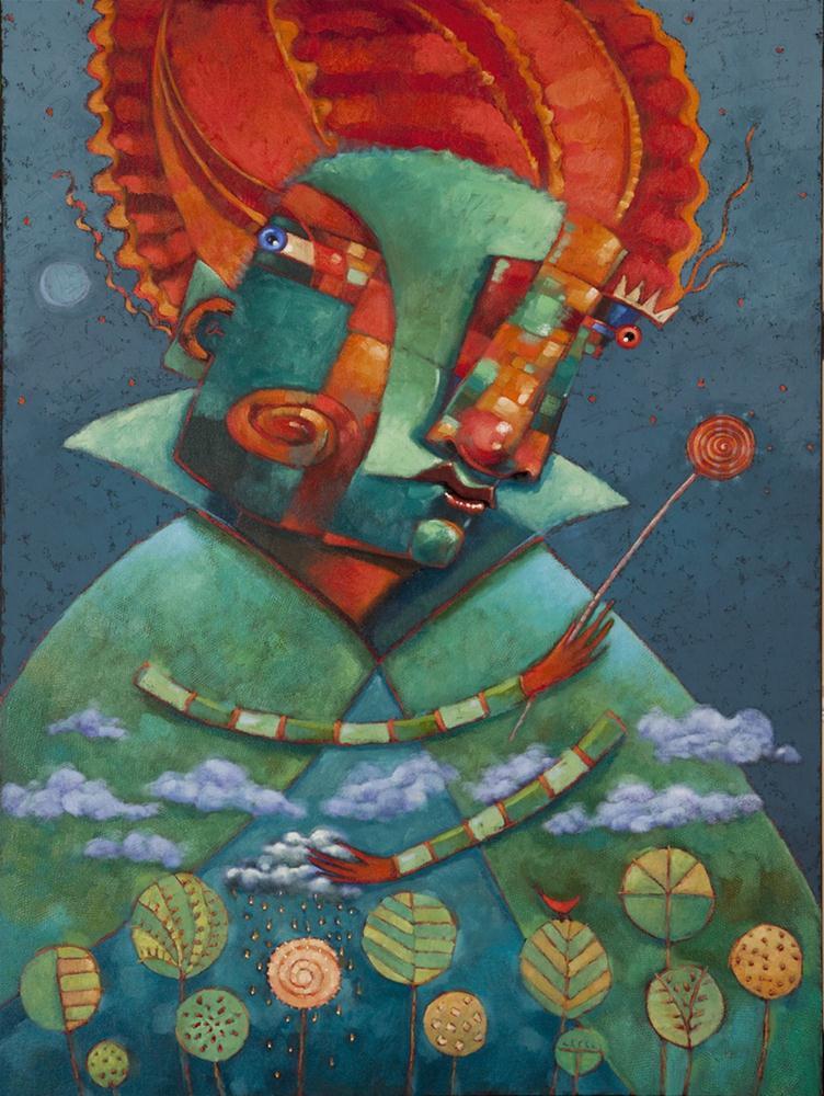 """Big Fairy Odd Mother"" original fine art by Brenda York"