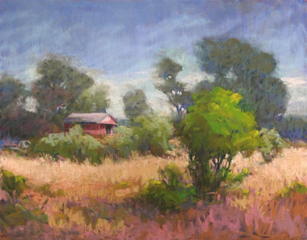 """Abandoned"" original fine art by Marsha Savage"