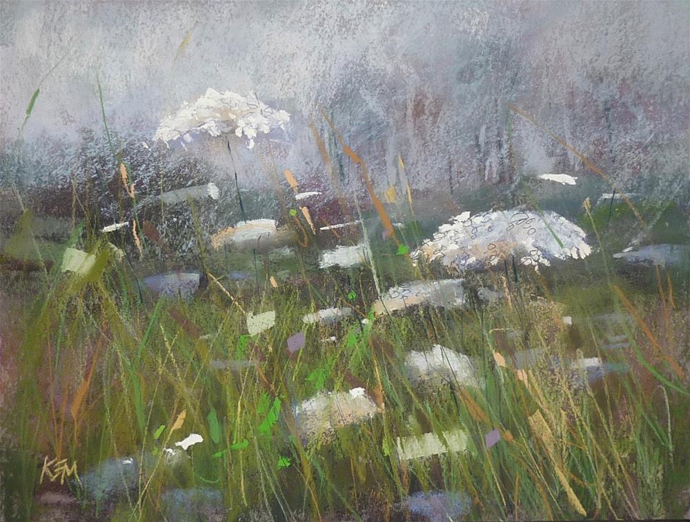 """How to Paint Mist, Fog and Haze in Pastel"" original fine art by Karen Margulis"