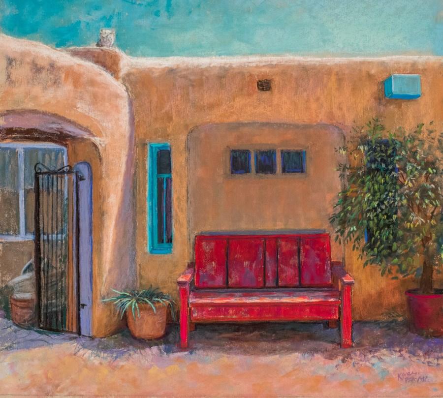"""""""Sun Baked"""" original fine art by karen israel"""
