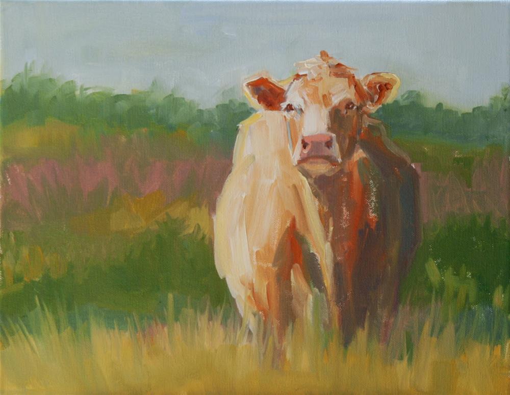 """let loose"" original fine art by Carol Carmichael"