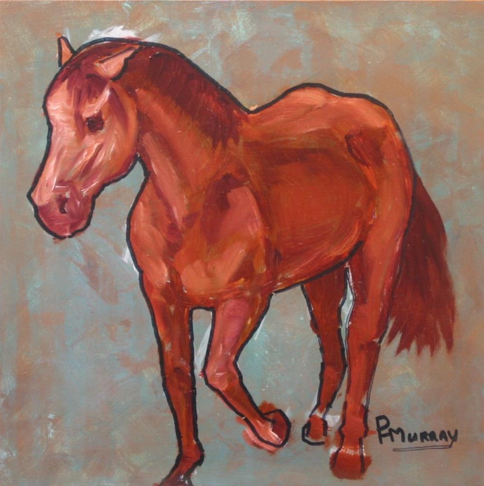 """""""Coming Home"""" original fine art by Patricia Murray"""