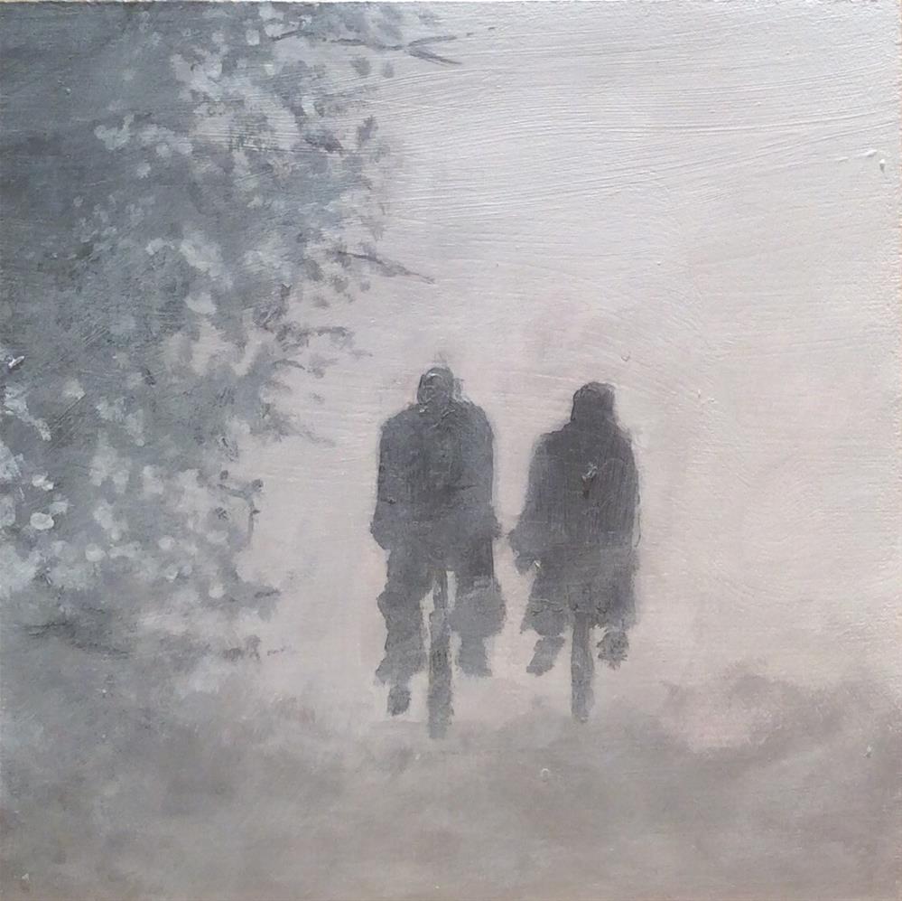 """Riding Home"" original fine art by wendy black"