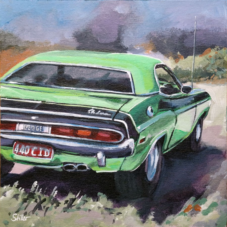 """2702 Challenger"" original fine art by Dietmar Stiller"