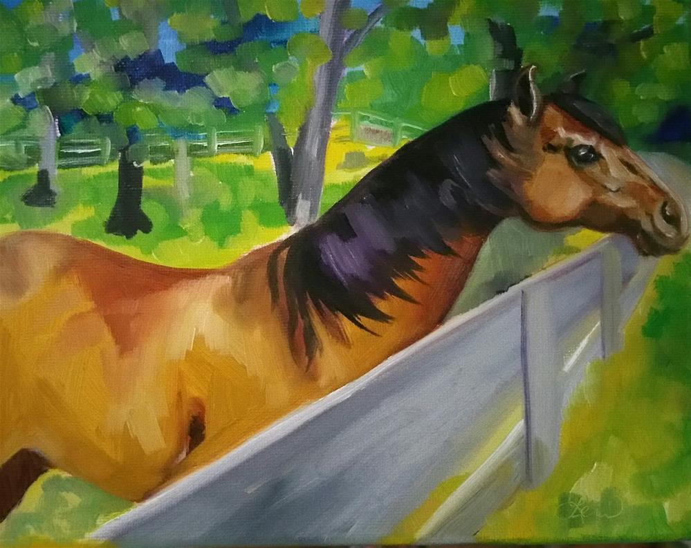 """Anticipation 8"" original fine art by Leni Tarleton"
