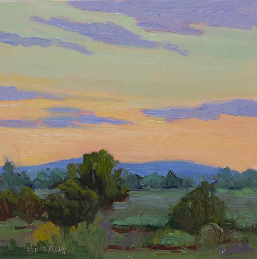 """Evening Walk"" original fine art by Carol Benally"