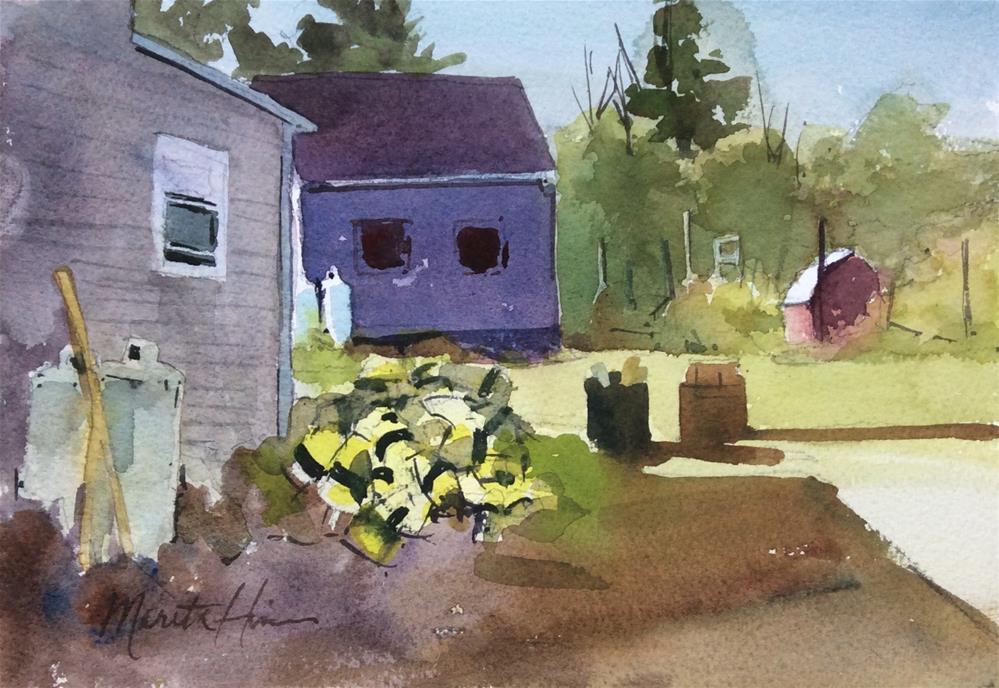 """Island Life"" original fine art by Marita Hines"