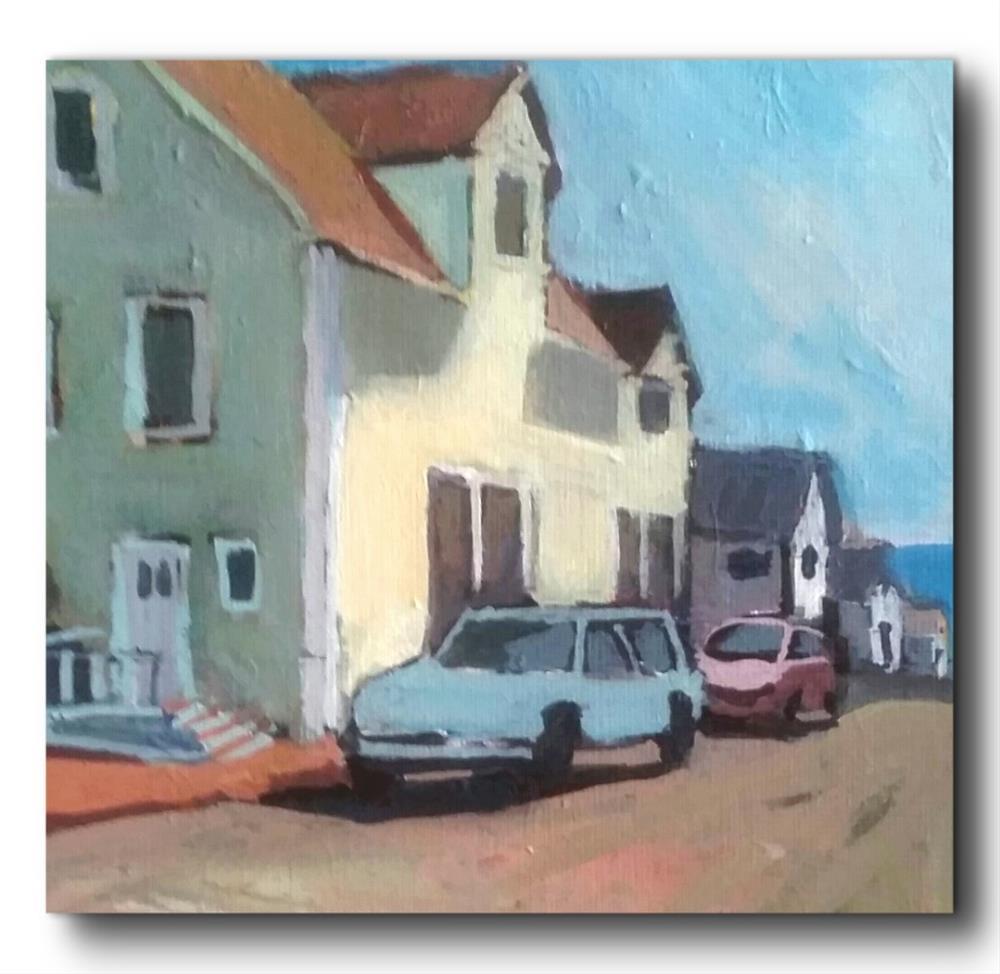 """""""Near Ocean Ave- Milford Ct."""" original fine art by Liz Maynes"""