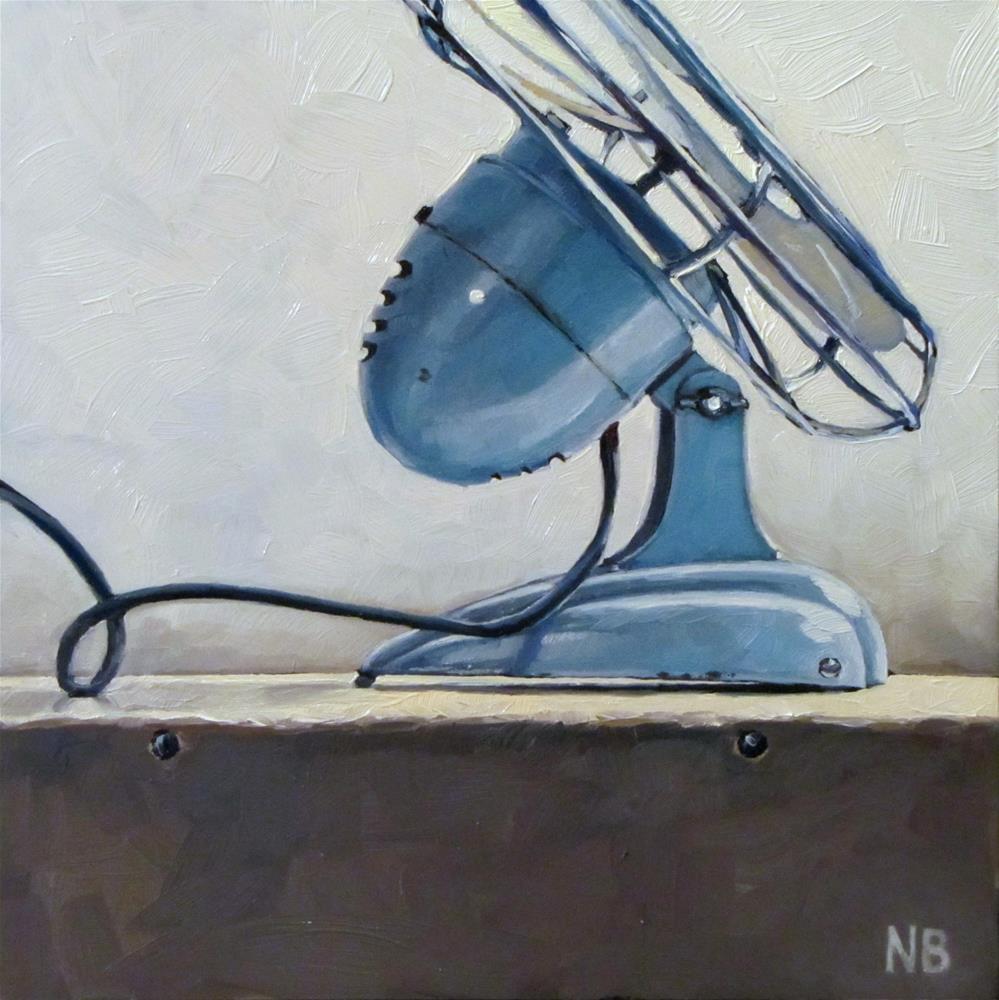 """""""I'm a Fan"""" original fine art by Nora Bergman"""