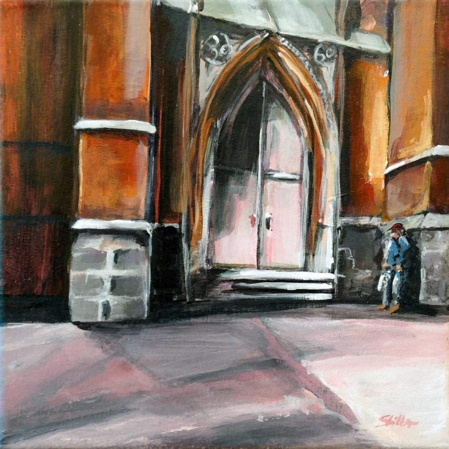 """""""1431 Portal"""" original fine art by Dietmar Stiller"""