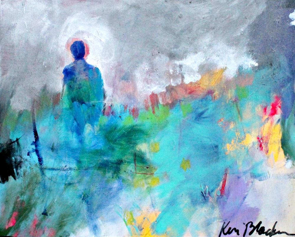 """Wandering on a Cloudy Day"" original fine art by Kerri Blackman"