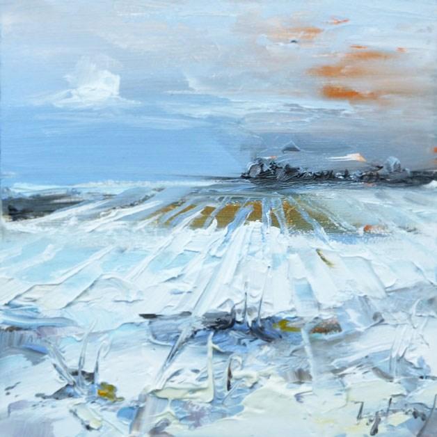 """Erse Schnee"" original fine art by Jurij Frey"