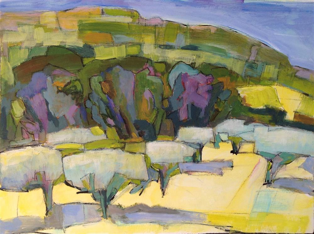 """""""Oppede-Le-Vieux  2"""" original fine art by Patricia MacDonald"""