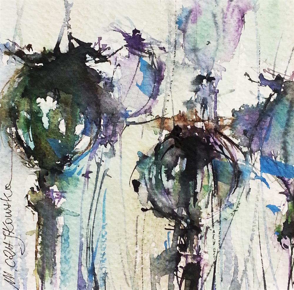 """""""Poppy 2"""" original fine art by Marlena Czajkowska"""